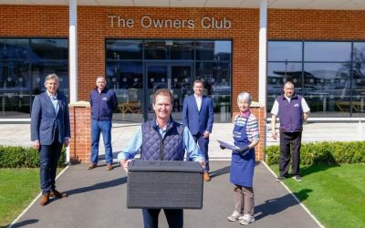 New partnership with Newbury Racecourse and Swift Couriers