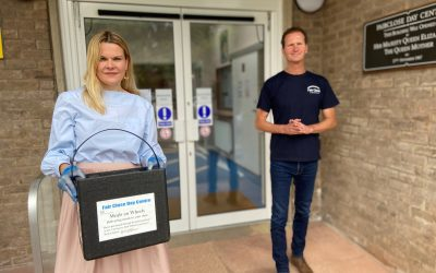 Newbury MP delivers Meals on Wheels