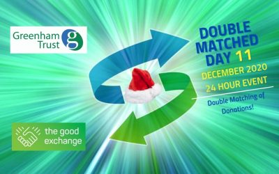Double Matched Funding day 11th December 2020